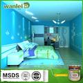 تأثير لطيف، امتصاص الصوت طلاء غرفة النوم