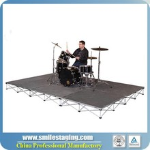 Aluminum modular concert stage sale,event stage , stage decoration themes non-slip portable stage for sale