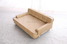 China modern soft cute larger animal bed/dog indoor houses