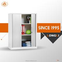 Top design adjustable shelf tambour door metal unique filing cabinet