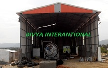 waste tyre pyrolysis plant equipment