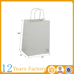 store clothing packaging plain paper bag