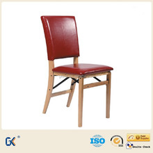 Modern high back dining chairs /folding wood chair