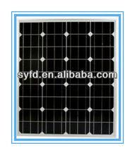 Solar Powered High Efficiency Monocrystalline Panels 75W