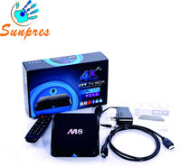 digital tv converter boxes amlogic S802 M8 external tv tuner for lcd monitor