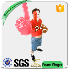 hand shaped sponge for sports cheering with your own logo