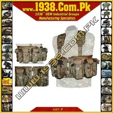 Tactical MAX Split Front Chest Rig {- Made-To-Order -}