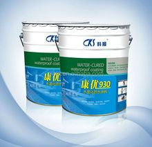 KS-930 Polyurethane waterproof paint for roof coating cheap price