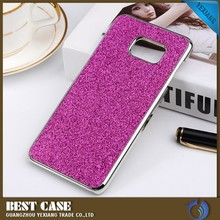For Samsung Galaxy Note 5 Glitter Case, Plated Metal Plastic Case For N9200