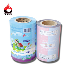 High Quality Plastic Packaging Roll Film For Wet Tissue