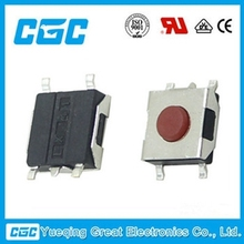 2015 CGC with 17 years work experience of 50mA 36VDC 6*6*2.5 tactile switch 4 pin 4 pin tact switch SMD push button switch