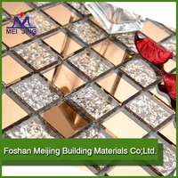 High quality glass mosaic ceramic tile triangle glass tile mosaic for home decoration