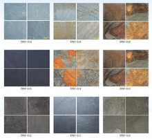 Multi Color Rusty Antique Natural Slate Stone Tiles