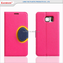 Wholesale pu phone case, for iphone 6 case with business card holder