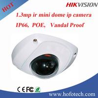 1.3 MP Mini Dome Network Camera CMOS Cloud Vandal Proof Security Camera IP Surveillance Camera