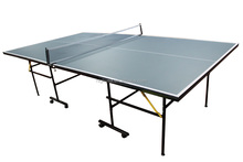flodable table tennis with wheel