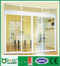 Powder coatedAS2047 AS2208 Australian standard 50 series sliding doors with cheap price aluminium Windows and doors supply