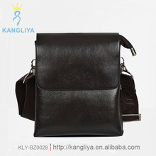 The newest cross body bag small handbag for man good touch genuine leather men's messagerbag