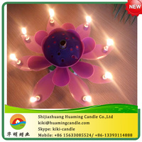 flower cale candle / auto music -factory directly