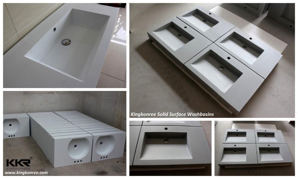 Espagnole lavabo conception, surface solide lavabo-Lavabo de salle ...