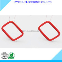 high precision all kinds of induction coil/ electric component oval wireless charger coil ZYcoil