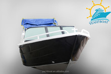 with windscreen aluminum fishing trawlers runabout