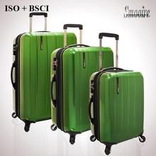 Caliente nuevos productos para 2015 PC policarbonato inflable conjuntos de maletas duras