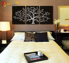 Home designs modern abstract canvas oil painting model for bedroom