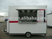 rice yellow newly type food cart used food truk outdoor kiosk for food with mobile function
