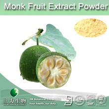 zero calory natural sweetener monk fruit extract powder