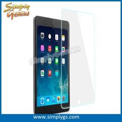 Wholesale 0.33mm flat edge 9H tempered glass for Apple iPad mini