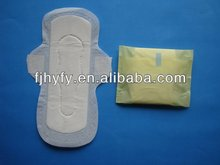 Grade A, 240mm, day use, with wings, in bulk packing, non-woven surface, cheapest price sanitary napkin