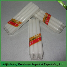 White Paraffin Wax Candles Made in China/clear sky brand Mob:0086 15097479316