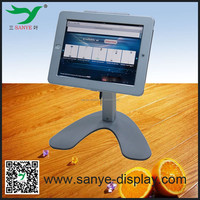 sanye display adjustable rotating secure case for ipad air