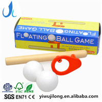 Cheap Promotional Wooden Toys Supplier Wooden Floating Ball Game