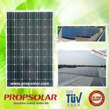 Shanghai Propsolar Alibaba hot sale low price per watt solar cell solar panel