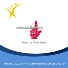 Craft Promotional Entertainment Cheering Foam Hands