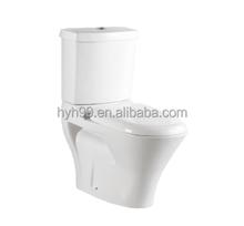 Sanitary Ware S-trap Round two piece Toilet Bowl