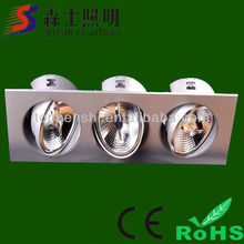 Long Square Shaped LED Bean Pot LED Lighting High Brightness Popularly Selled To Every Area