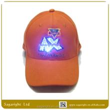 Design Custome EL Cap, LED Hats , Party Light Up Cap