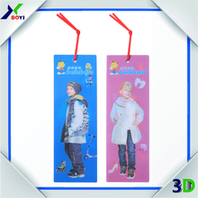 lenticular bookmark for promotional gift