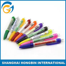 HONGBIN Promotional Ball Pen Cheap Banner Ball Pen