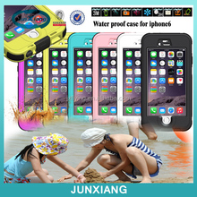 mobile accessory waterproof phone case for Iphone 6 4.7 inch waterproof mobile phone case