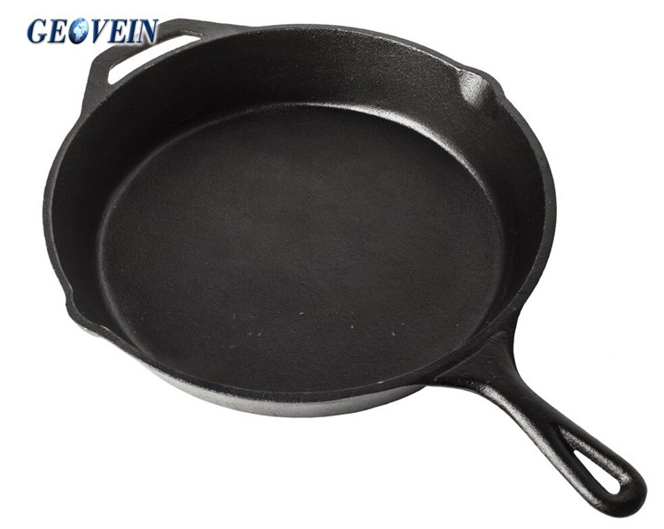 Divided Cast Iron Skillet 5 In 1 Multi Section Frying Pan