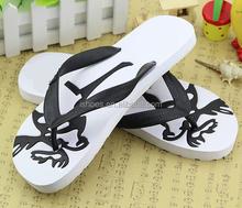 2015 summer fashion rubber beach cheap plastic slipper