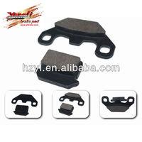 semi-metallic quality disc brake 2 seat go kart