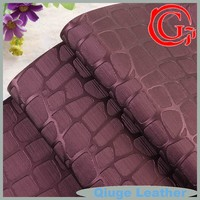 QG5535 women and men shoes modern sofas furniture bags free samples provided pvc leather