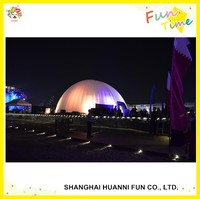 Color changing LED lighting inflatable dome tent igloo tent LED lighted inflatable tent with LED
