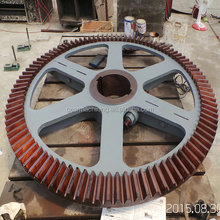 Large size Spiral Bevel Gears , Helical Bevel Gears , Screw Bevel Gears with High Precision