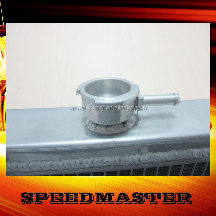 De doble núcleo 2 pase modificado para requisitos particulares pequeño núcleo de aluminio del radiador